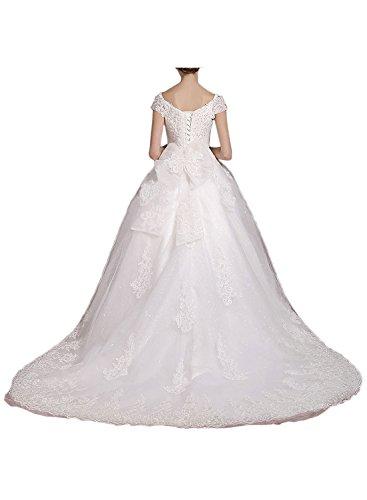 Missdressy - Robe de mariage - Trapèze - Femme Weiß