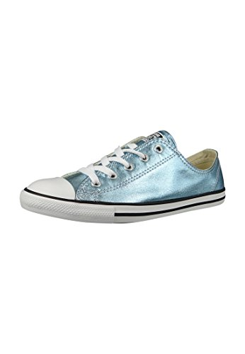 Converse All Star Dainty Ox Damen Sneaker Pink Blue Coast/Black