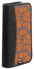 ednet CD-Etui mit Reißverschluss aus hochwertigem Nylon und Koskin 48 CDs/DVDs orange Koskin Dvd Wallet