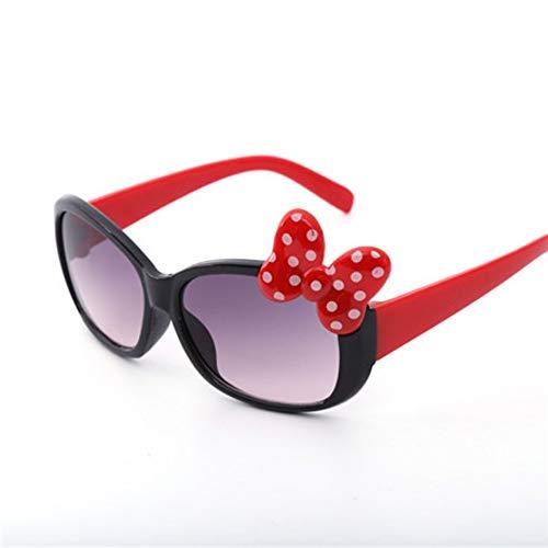 MoHHoM Sonnenbrillen Für Kinder,Fashion Cat Eye Cute Bug Kinder Sonnenbrille Für Junge Mädchen Baby Sonnenbrille Kinder Sport Outdoor Schatten Brillen Uv 400 Schwarz