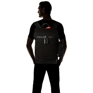 31avWZKWUCL. SS300  - Calvin Klein - Modern Bound Fashion Backpack, Mochilas Hombre, Negro (Black), 20x53x35 cm (B x H T)