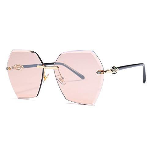 Thirteen Diamant Sonnenbrille, Retro UV400 Geeignet Für Dekoration, Sonnenschutz, Reisen Im Freien, Einkaufen, Reisen, Fahren. (Color : F)