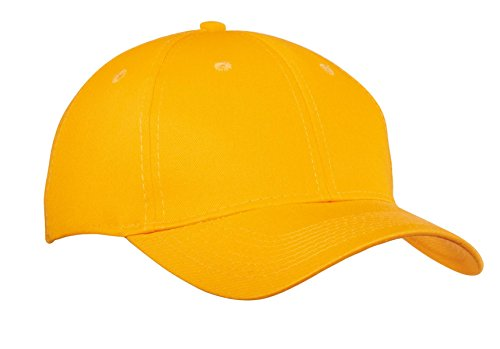 Port & Company® - Six-Panel Twill Cap. CP80 Athletic Gold OSFA Panel Twill Cap