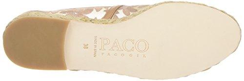 Paco Gil P2982x, Espadrilles femme Beige - Beige (Camel)