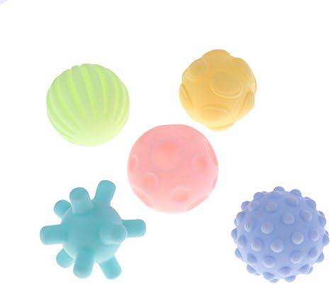 Homyl Balles Sensorielles Jeux de Balles pour Bébé   Doux au Toucher (sans BPA ) | Une Grande Variété De Marchandises