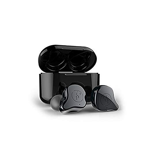 Docooler Sabbat E12 TWS Mini-Ohrhörer Sport-In-Ear-Ohrhörer 5.0 TWS Wireless Earphone mit Ladekoffer -