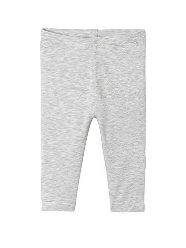 2 Pack Fashion Legging (VERTBAUDET 2er-Pack Leggings Baby Mädchen schwarz+grau meliert 68)