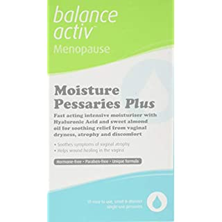 Balance Activ Menopause Moisture Pessaries, Fast Relief from Discomfort