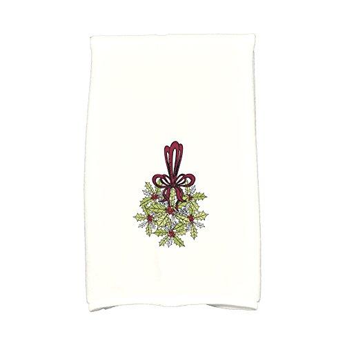 E von Design kthfn673gr10re6traditionellen Urlaub Dekoration Floral Print Küche Handtuch, 40,6x 63,5cm grün (Floral Print Handtücher)