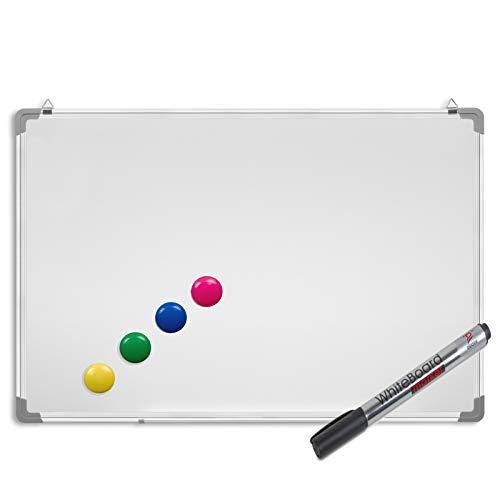 Dahle Whiteboard Starter Set 2 Marker 1 Schwamm 4 Magnete