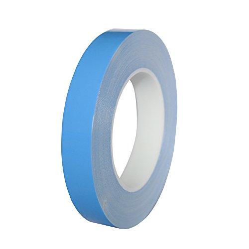 Wärmeleitpaste Thermal Compound Thermische Verbindung Paste Band Klebeband Leitfähiges Kühlband für IC-Chipsatz LED CPU-Karte und andere Kühlgeräte (10mm 50m)