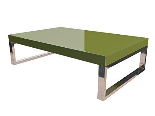 KeraBad Waschtischplatte Waschtischkonsole für Aufsatzwaschbecken und Waschschalen Holzplatte Badmöbel Tischplatte 70x50x5cm Olivgrün Hochglanz kb-wt50120olivg-3