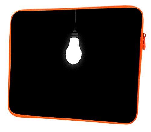 Snoogg Sie Leuchtmittel 38,1cm Zoll auf 39,4cm Zoll auf 39,6cm Zoll Laptop Notebook Schuber Sleeve Soft Case, der Fall für MacBook Pro Acer Asus Dell HP Sony Toshiba (Soft Case Canvas)
