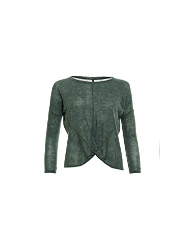 Smash! Lompo, T-Shirt Donna Verde (Dark Green) (scuro)