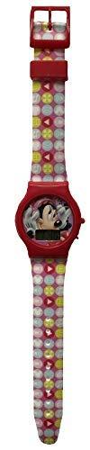 Star Disney Minnie Reloj de Pulsera Digital