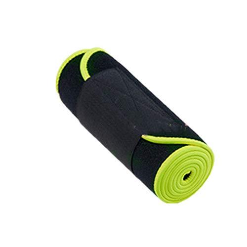 Cintura di Allenamento della Vita, Burning Fat Shaping Small Waist Lining Wicking Materiali di Alta qualità Squisiti Artigianato Elastico Resistente al Vento Caldo e Durevole,fluorescentgreen