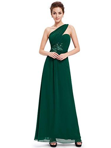 Ever Pretty Robe de cocktail longue avec une ¨¦paule 08540 Vert