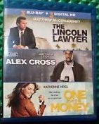 The Lincoln Lawyer / Alex Cross / One for the Mone