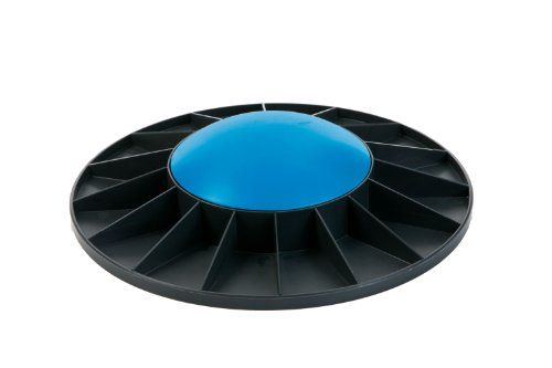 Togu Balance Board Level 3, 410404, Schwarz mit blau, 40x9,5 cm