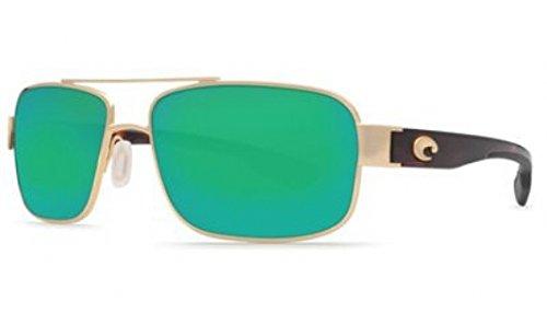 N/A , Gold Green Mir : Costa Del Mar Tower Sunglasses