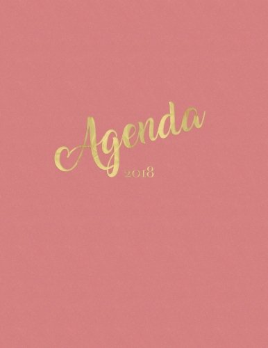Agenda 2018: Vintage Pink Weekly Monthly Planner with Inspirational Quotes + To Do Lists: Volume 1 (Beautiful Planners) por Nifty Notebooks
