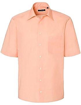 CASAMODA Herren Businesshemd 100% Baumwolle orange 43/XL