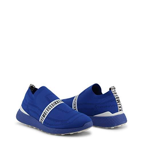 Bikkembergs Scarpe Basse Sneakers Uomo Blu (STRIK-ER_2106)