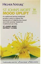 Higher Nature St John's Wort Mood Uplift - Pack of 30 Tablets from TREZA