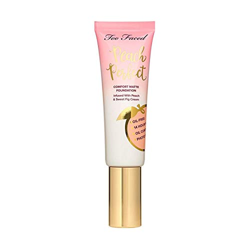 TOO FACED Peach Perfect Comfort Matte Foundation Warm Nude