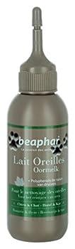 Beaphar - Lait nettoyant Premium, soin des oreilles - chien et chat - 125 ml