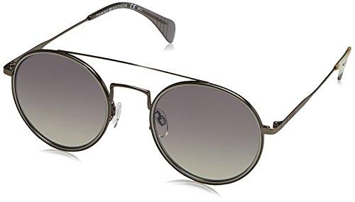 Tommy Hilfiger Unisex-Erwachsene TH 1455/S IC R80 53 Sonnenbrille, Grau (Smruthe/Grey Ms),