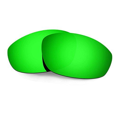 HKUCO Verstärken Ersatz-Brillengläser für Oakley Whisker Sonnenbrille Grün TAC Polarisiert