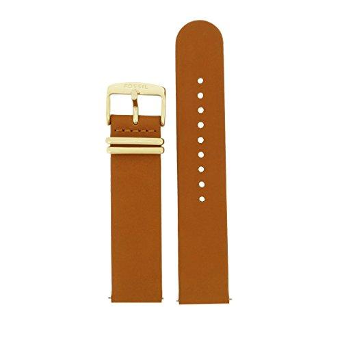 Fossil Uhrband Wechselarmband LB-ES3750 Original Ersatzband ES 3750 Uhrenarmband Leder 20 mm Braun (20 Mm Fossil Leder Uhr Band)