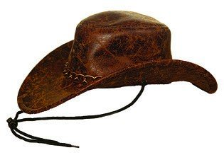 Bill chapeau de cowboy marron