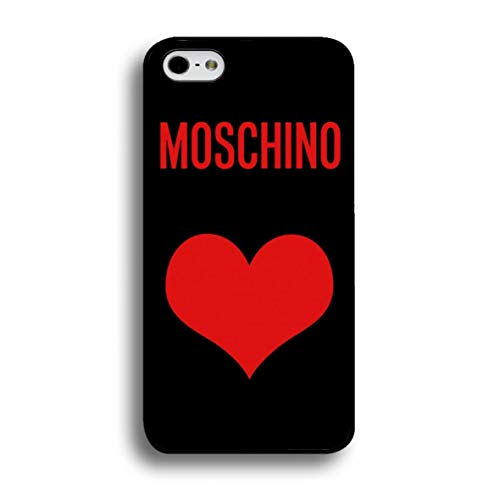 BILMARY AGUILA DIY Fashion Custom Silicone Phone case Cover case - [TPU/Silicone Soft case] - for iPhone 5/5s/SE Phone Cases (Iphone Moschino 5)