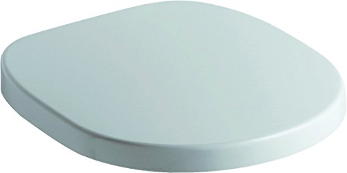 Ideal Standard E712701 WC-Sitz Connect mit Deckel Scharniere aus Edelstahl, Softclosing, weiß
