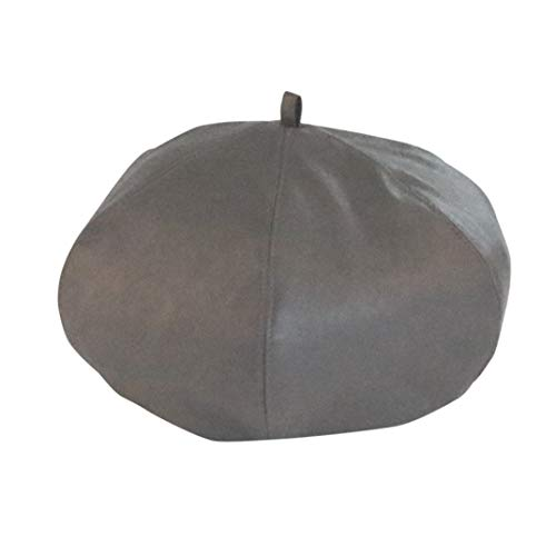 (OLADO Frauen-Barett-Hut Mode britischen süße Nette einfache Barett-Hut)