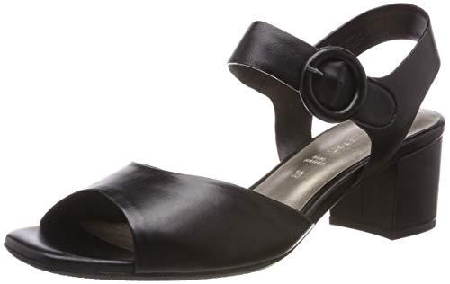 Gerry Weber Shoes Damen Faro 01 Slingback Sandalen, Schwarz 100, 40 EU
