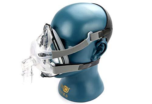 NOTE F1A Vollmaske 03 Mit Kopfbedeckung Für CPAP Maschine Schlaf Gesundheitswesen Größe SML Schnarchen Therapie Schnittstelle Schlauch Tragetasche -
