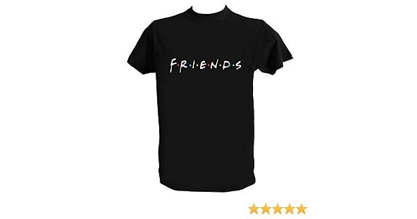 Serie TV Anni 90 Generico T Shirt Friends Logo