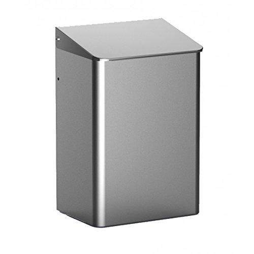 All Care 8220 Dutch Bins Poubelle fermée en aluminium 15 l
