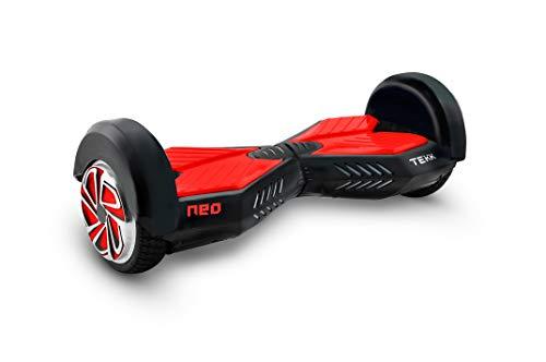 """Itekk Hoverboard 8'' Neo con Bluetooth, Assicurazione AXA """"Tutela Famiglia"""" inclusa, Rosso"""