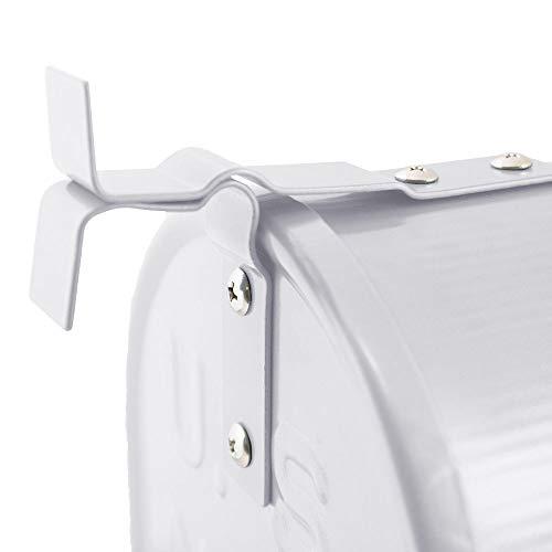 US Mailbox Amerikanischer Briefkasten Standbriefkasten Wandbriefkasten Letterbox Weiß - 3