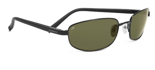 Serengeti Manetti Sonnenbrille, Objektiv: Polar PHD 555NM, Schwarz
