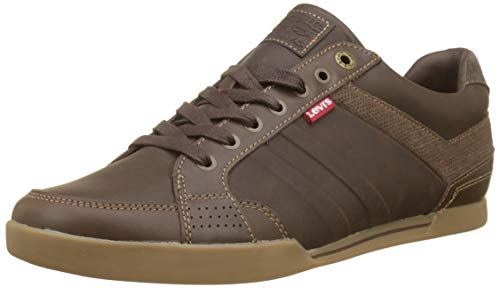 Levi's Turlock 2.0, Zapatillas para Hombre, Marrón...
