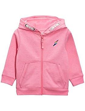 next Bambine e ragazze Felpa Rosa Con Cappuccio E Zip (3 Mesi-6 Anni)