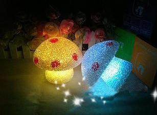 Geschenk-Idee! VENI MASEE LED Pilzförmiger Farbwechsel Nachtlicht, Weihnachtsgeschenk / Dekoration, Preis / Stück von VENI MASEE - Lampenhans.de
