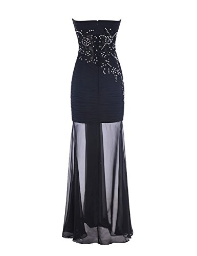 Promworld Damen A-Linie Kleid Liliac Blush