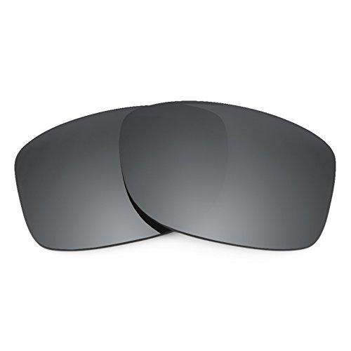 Revant Ersatzlinsen für Oakley Jupiter Squared Schwarz Chrom MirrorShield®