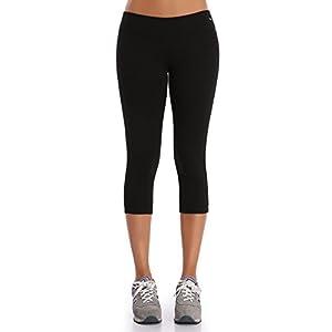 31awflmNB2L. SS300  - WingsLove Women's Yoga Workout Capri Pants Sports Running Tights Leggings
